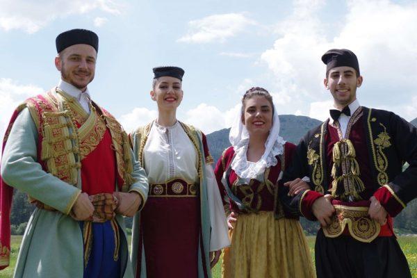 Costumes traditionnels Monténégro